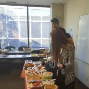 American Fall Holidays - Thanksgiving Buffet
