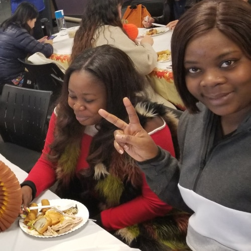 Thanksgiving at Excel English Institute