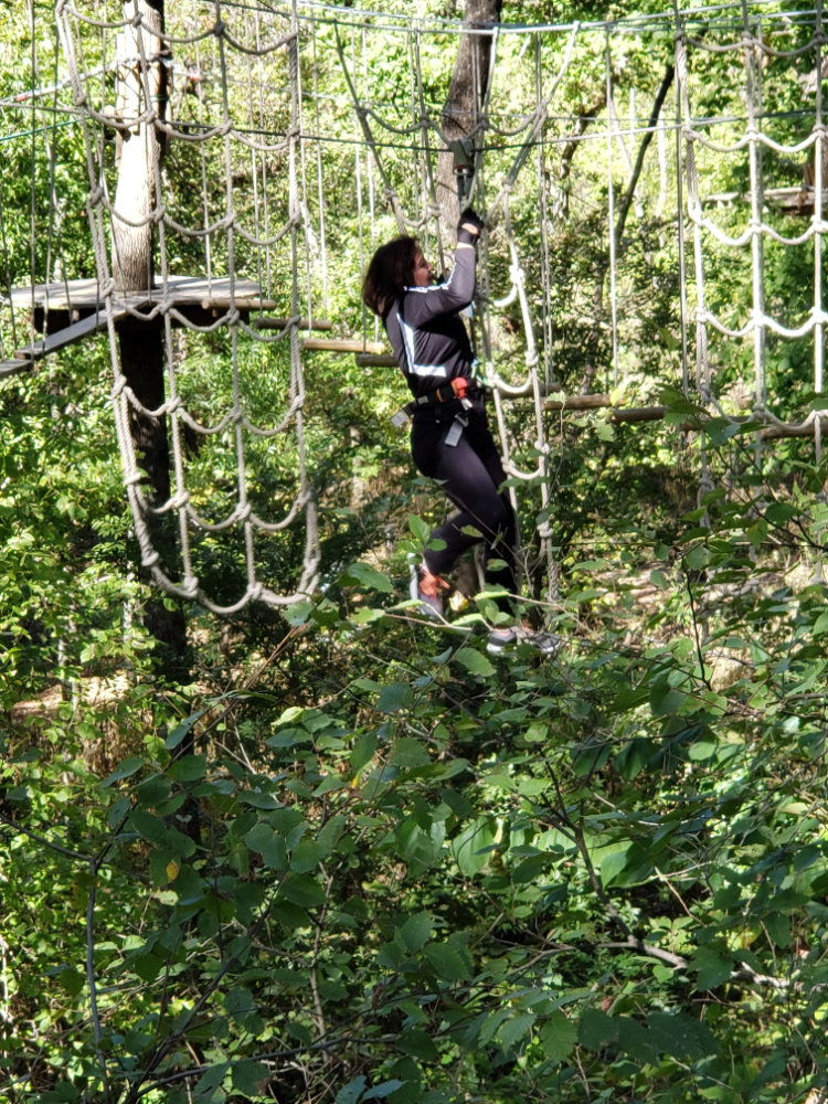 Student Excursion | Excel English Institute | Go Ape in Plano, TX