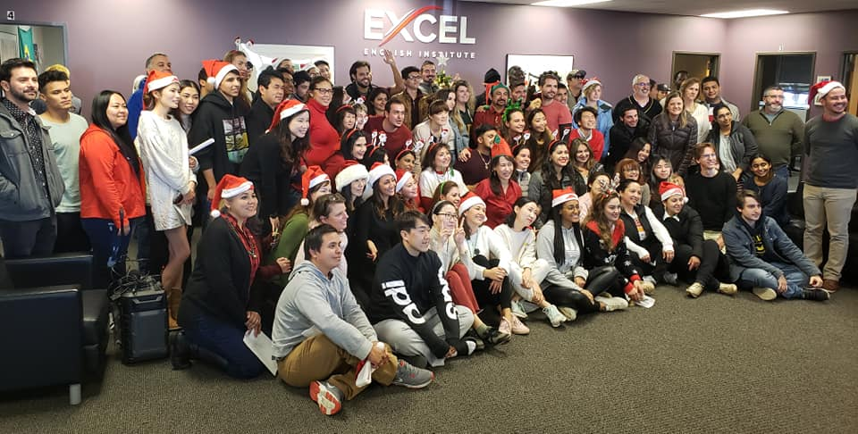 Christmas Party | Excel English Institute