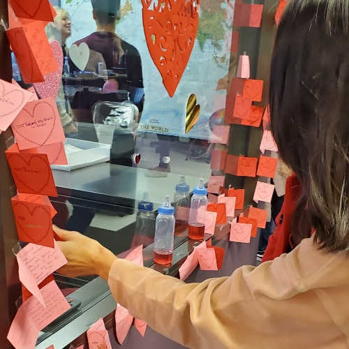Valentines Day at Excel | Written Notes in English by ESL Students